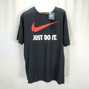 "Nike Tee T-Shirt "" Just Do It "" Graphic Tee  U1409"